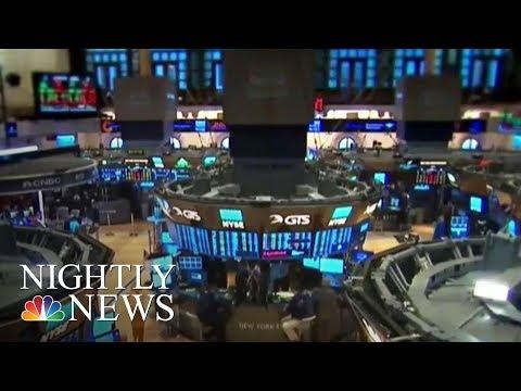 Wall Street Sets Records As Dow Jones Hits 23,000 | NBC Nightly News