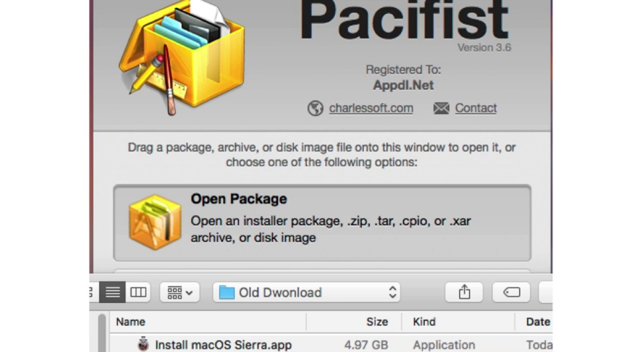 pacifist mac os x