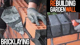 Bricklaying - Oddly Satisfying Watching Bricklayers Build a Brick Wall