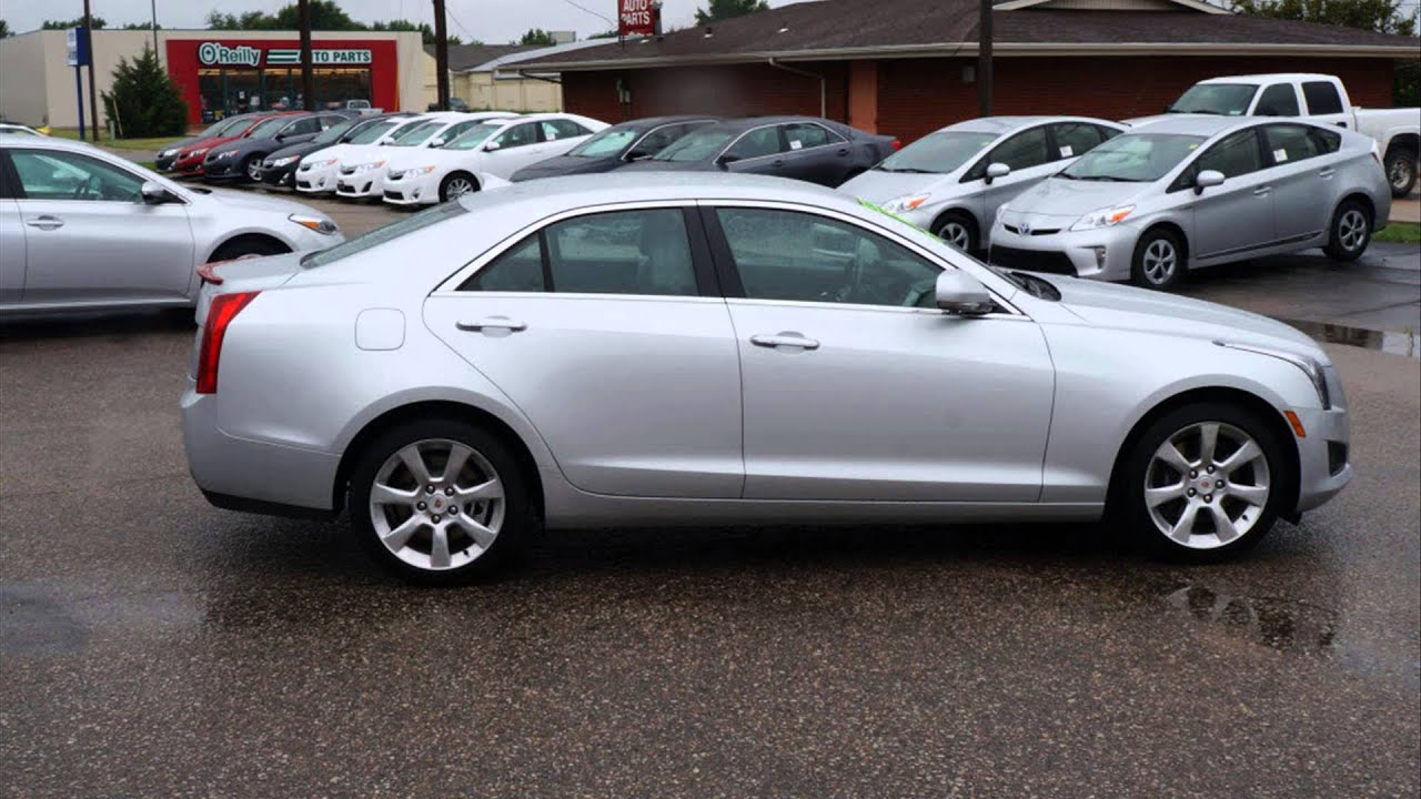2014 cadillac ats 2.5l luxury rwd - YouTube
