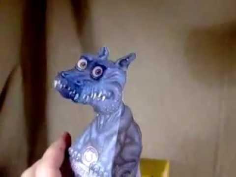 как сделать 3D дракона из