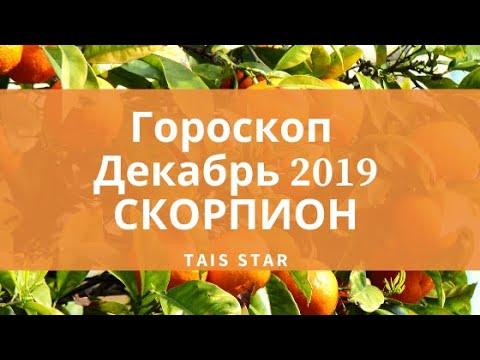 Гороскоп на ДЕКАБРЬ 2019 Скорпион / Юпитер в Козероге / Солнечное затмение 26 декабря