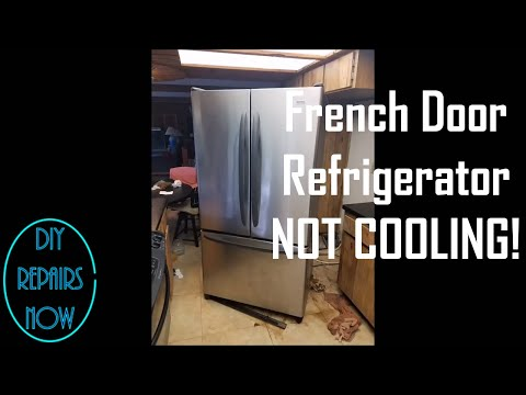 Kenmore Whirlpool Maytag French Door Refrigerator Not Cooling