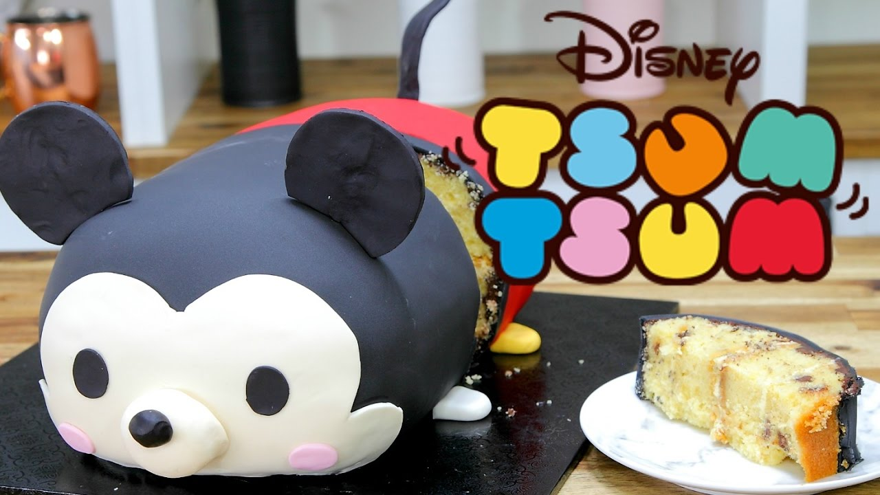 Disney TSUM TSUM Mickey Mouse Cake Cake Style YouTube