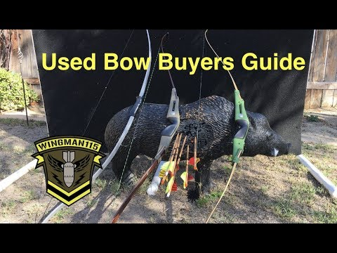 Archery - Used Bow Buying Tips
