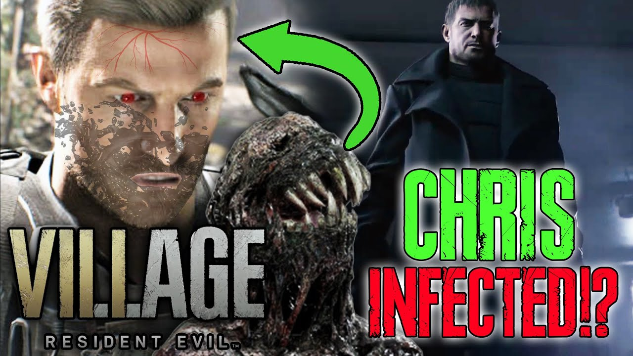 Chris Infected Resident Evil 8 Chris Villain Discussion Theory