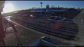 Flagstaff, Arizona USA - Virtual Railfan-Recorded Footage