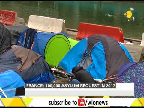 France: 1,00,000 asylum request in 2017