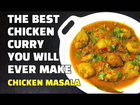Chicken Curry - Chicken Curry Recipe - Best Ever Homemade Chicken Curry