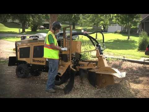 SC852 Stump Cutter In Action | Vermeer Tree Care Equipment