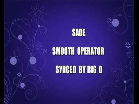 Sade - Smooth Operator (Sing-a-long Karaoke Lyric Video)