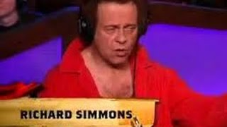 Hodward Stern Richard Simmons Leaves Crying