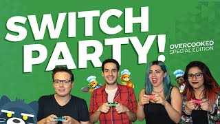 Switch Party! / Overcooked Special Edition (Gameplay en Nintendo Switch)