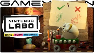 More Nintendo Labo Details! - DISCUSSION (Track Creator, Robot Versus Mode, & More!)