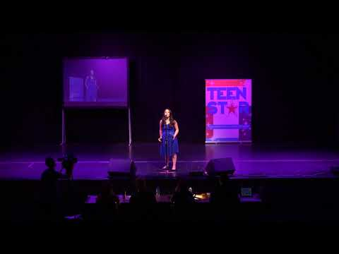 GRACE MCDONALD at Manchester TeenStar Singing & Dance competition