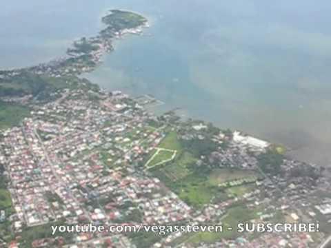 Davao City Airport Landing