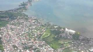 Davao City Airport Landing