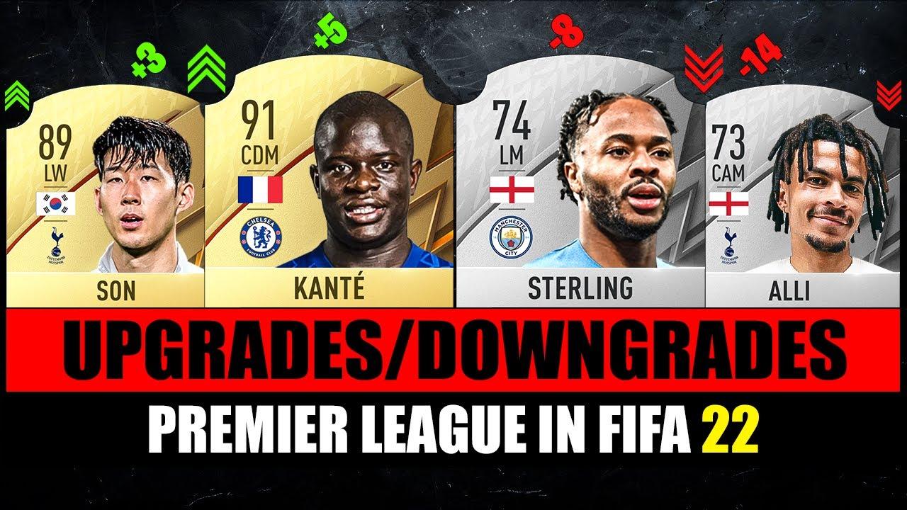FIFA 22   BIGGEST PREMIER LEAGUE RATING UPGRADES & DOWNGRADES! 😱🔥 ft. Kante, Son, Mane…