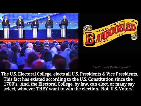 Why US Presidents Are Elected By An Electoral College (Not Public Votes)