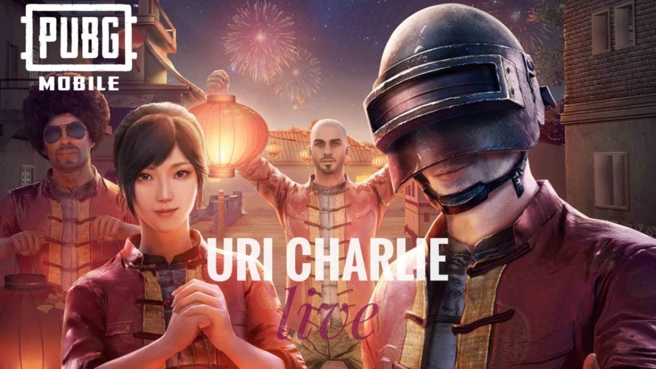 PUBG MOBILE E    BE SAFE BE AT HOME    THE URI CHARLIE