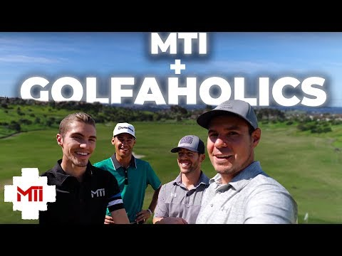 "MTi joins Golfholics for an EPIC ""Course Vlog""!! PART 1"