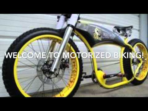 Custom modified 79cc motorized bicycle doovi for Custom motorized bicycles parts