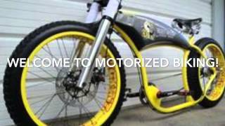 Custom Motorized Bikes Parts List