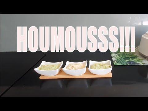 recette-houmous-a-l'avocat-tahine!!!!-حمص-المطاعم🥰