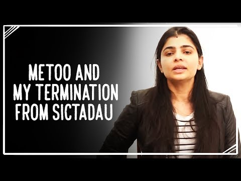 MeToo and my Termination from the Tamilnadu Dubbing Union (SICTADAU)