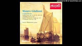 No. 3, Op. 139 Etude: Allegro - Giuliani - Matarazzo