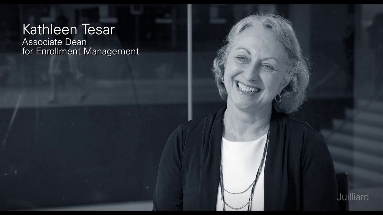 Kathleen Tesar's Advice to Young Artists | Juilliard Snapshot