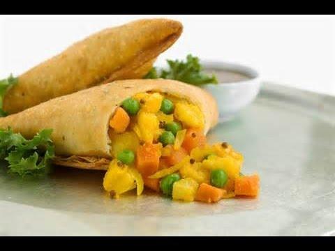 Ethiopian Vegetable Sambosa