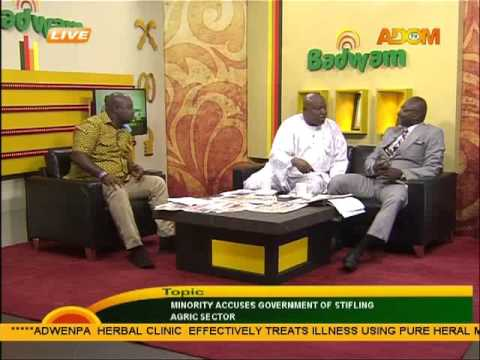 Minority accuses government of stifling agric sector