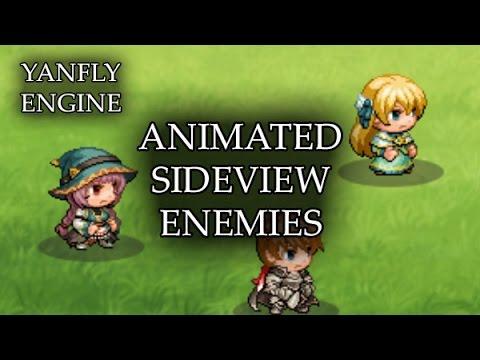 YEP.44 - Animated Sideview Enemies - RPG Maker MV - YouTube