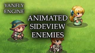 YEP.44 - Animated Sideview Enemies - RPG Maker MV