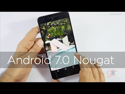 Android N 7.0 Nougat Update & Features using Nexus 6p