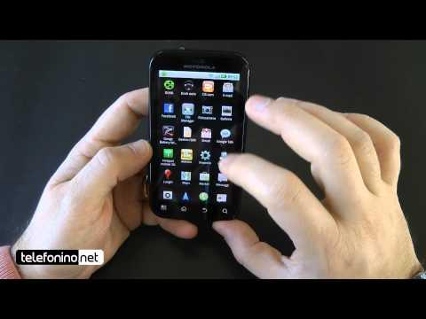 Motorola Mb525 Defy videoreview da Telefonino.net