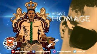 VillaVil - Homge (Tribute To Vybz Kartel) [Audio Visualizer]