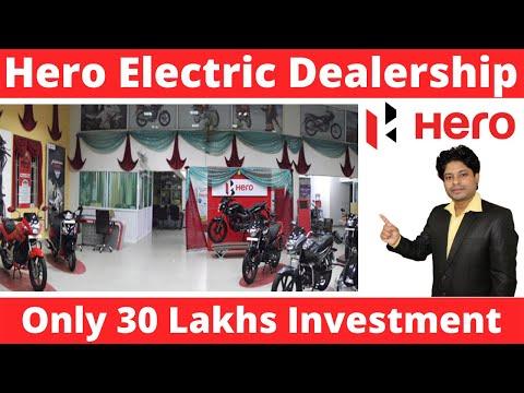 Hero Electric Dealership 2019