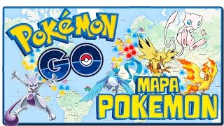 CÓMO CAPTURAR UN POKEMON LEGENDARIO EN POKEMON GO - MAPA POKEMON DE RESPAWN