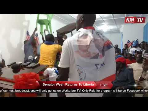 Liberia Presidential Candidate George Weah Speech