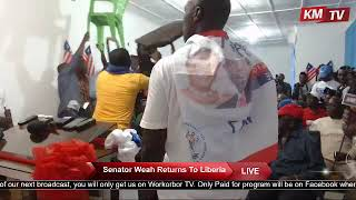 Liberia Presidential Candidate George Weah Speech