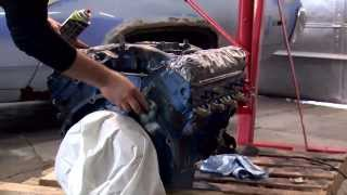 Painting an Engine with VHT Engine Enamel - Restoration of 1972 Plymouth Satellite Sebring Plus
