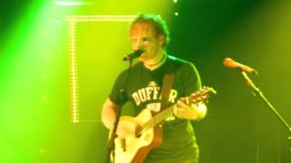 Drunk by Ed Sheeran Live in LA