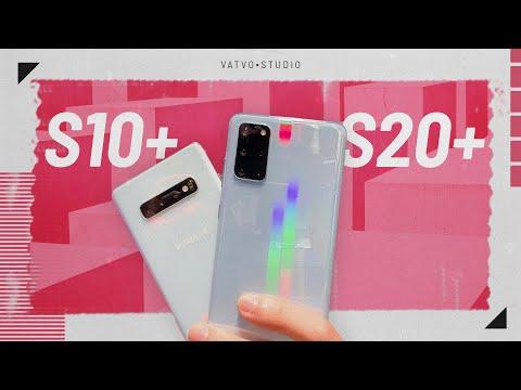 So sánh Samsung Galaxy S20+ và Galaxy S10+
