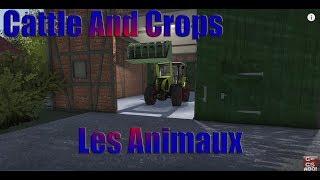 Cattle And Crops / Les Animaux ( Bétaillère + Taureaux + Mélangeuse )