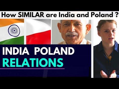 India - Poland | Astonishing Similarities | India Poland Relations | Karolina Goswami