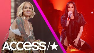 Kehlani Addresses Her Sexuality After Kissing Demi Lovato Onstage: