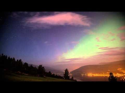 Aurora timelapse 13. sep 2014. Voss, Norway