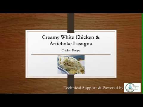 White Chicken Lasagna - Myhiton